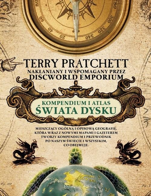 okładka Kompendium i Atlas Świata Dyskuksiążka      Terry Pratchett