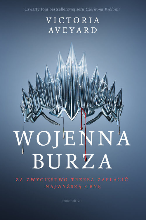 okładka Wojenna burzaksiążka |  | Victoria Aveyard
