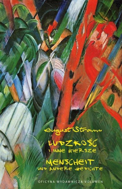 okładka Ludzkość i inne wiersze Menscheit Und Andere Gedichte, Książka | Stramm August