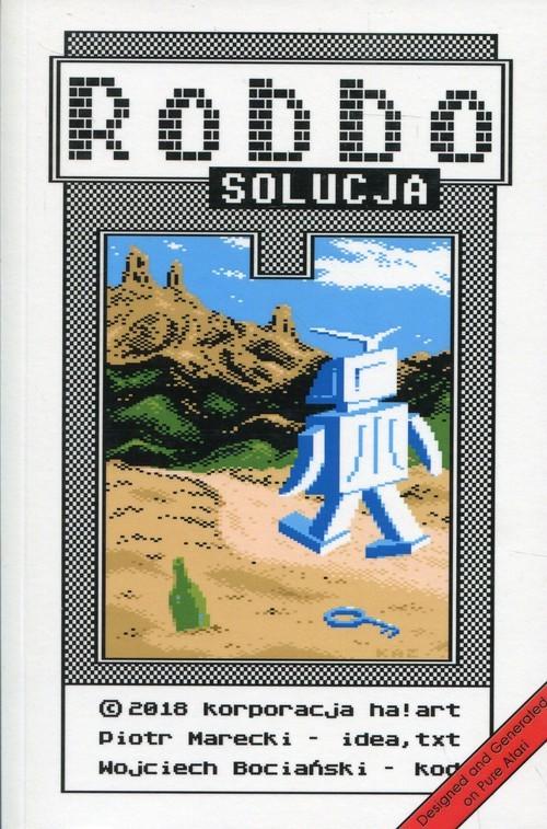 okładka Robbo Solucja, Książka | Piotr  Marecki