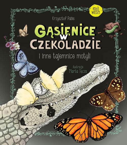 okładka Gąsienice w czekoladzie I inne tajemnice motyli, Książka | Krzysztof  Pabis