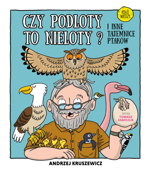 okładka Czy podloty to nieloty I inne tajemnice ptaków, Książka | Kruszewicz Andrzej