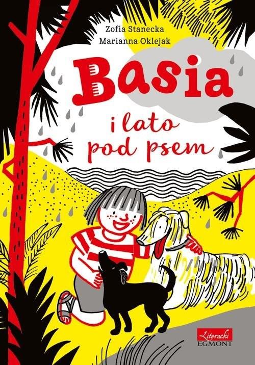 okładka Basia i lato pod psemksiążka      Zofia Stanecka