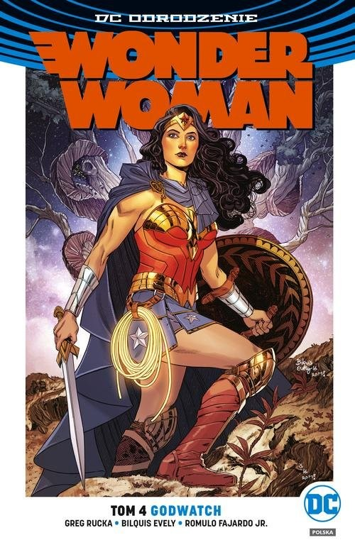 okładka Wonder Woman Tom 4 Godwatchksiążka      Greg Rucka