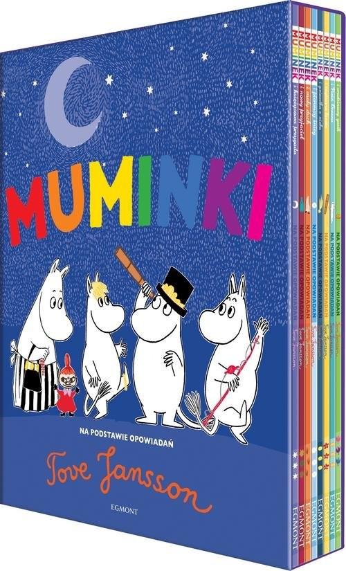 okładka Muminki Wielka kolekcja (8)książka |  | Tove Jansson
