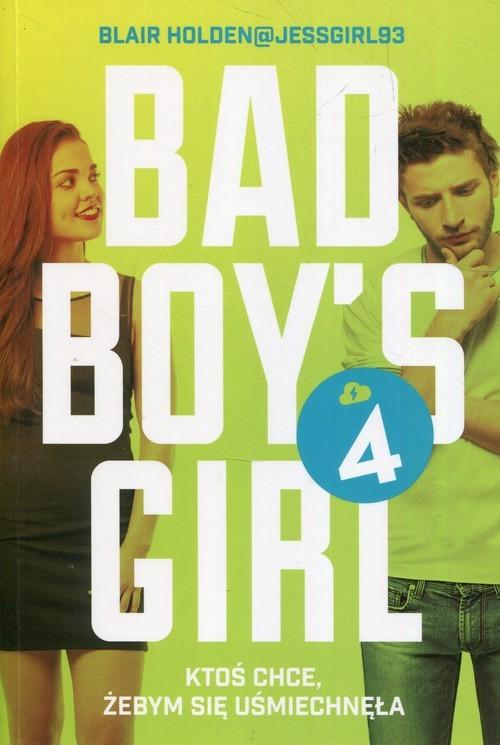 okładka Bad Boys Girl 4książka      Blair  Holden