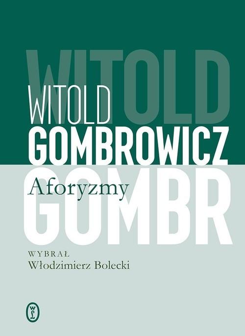 okładka Aforyzmyksiążka      Witold Gombrowicz