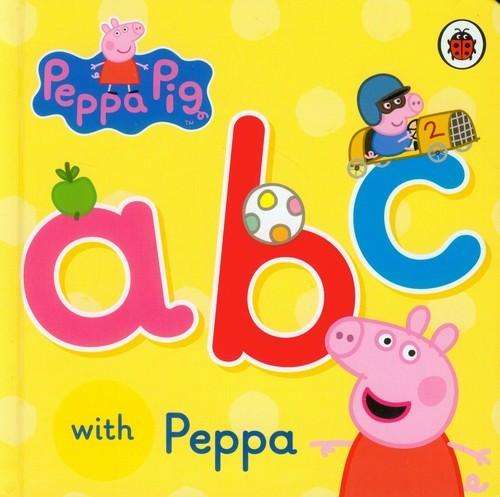 okładka Peppa Pig ABC with Peppaksiążka     