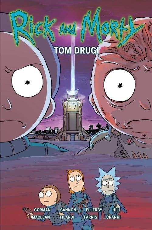 okładka Rick i Morty Tom 2książka |  | Zac Gorman, Marc Ellerby