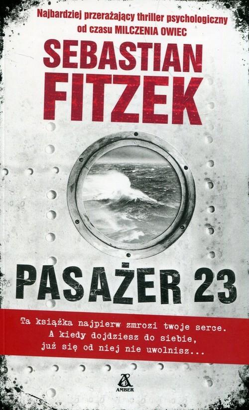 okładka Pasażer 23książka      Sebastian Fitzek