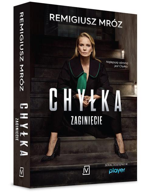 okładka Zaginięcie Chyłka Tom 2książka      Remigiusz Mróz