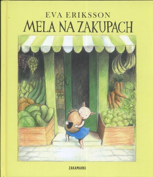 okładka Mela na zakupach, Książka   Eva Eriksson