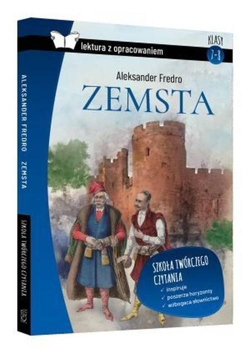 okładka Zemsta Lektura z pracowaniem / SBM, Książka   Aleksander Fredro