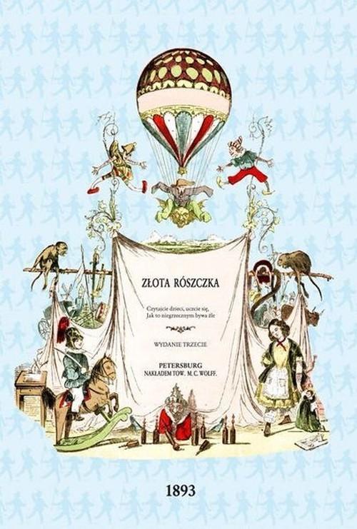 okładka Złota rószczka, Książka | Heinrich Hoffmann