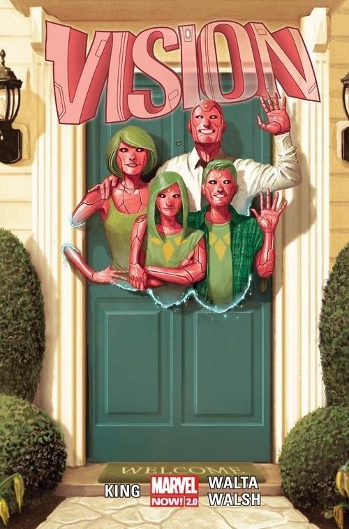 okładka Visionksiążka |  | Tom King