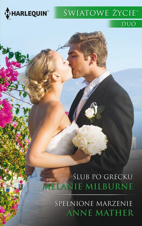 okładka Ślub po greckuksiążka      Melanie Milburne