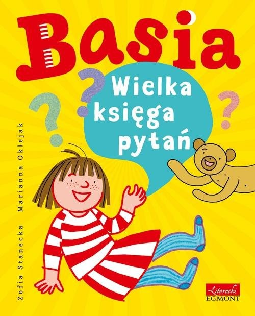 okładka Basia Wielka księga pytańksiążka |  | Zofia Stanecka