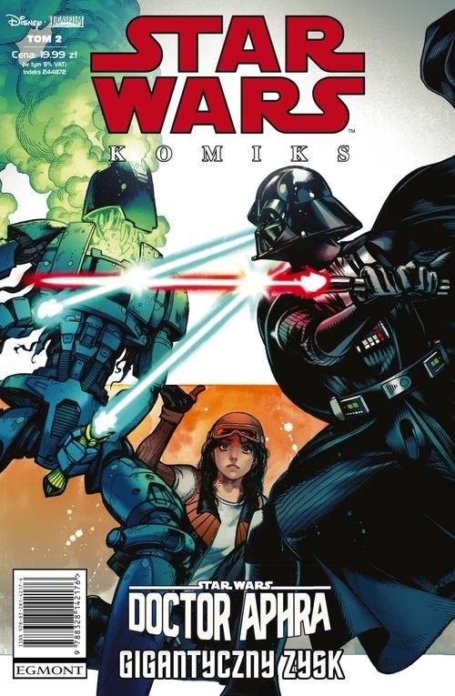 okładka Star Wars - Doctor Aphra - Gigantyczny zyskksiążka |  | Charles Soule