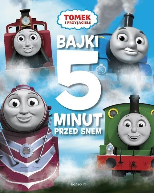 okładka Tomek i przyjaciele Bajki 5 minut przed snem, Książka | Allcroft Britt