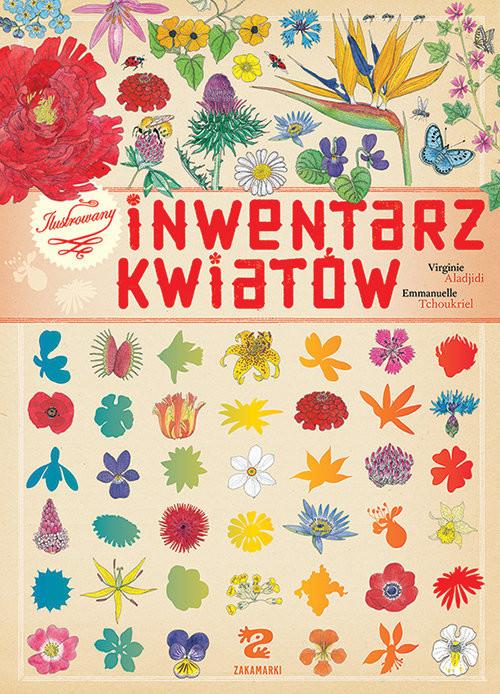 okładka Ilustrowany inwentarz kwiatów, Książka   Aladjidi Virginie