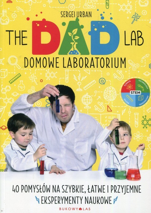 okładka TheDadLab Domowe laboratorium, Książka | Urban Sergei