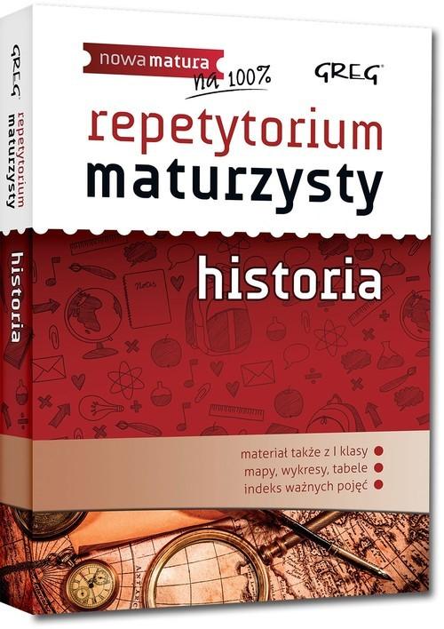 okładka Repetytorium maturzysty historia, Książka   Agnieszka Kręc, Jerzy Noskowiak, Beata Zapiór
