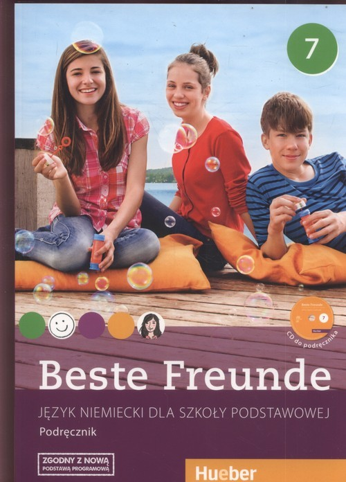 okładka Beste Freunde 7 Podręcznik + CD Szkoła podstawowa, Książka   Manuela Georgiakaki, Monika Bovermann, Elisabeth Graf-Riemann