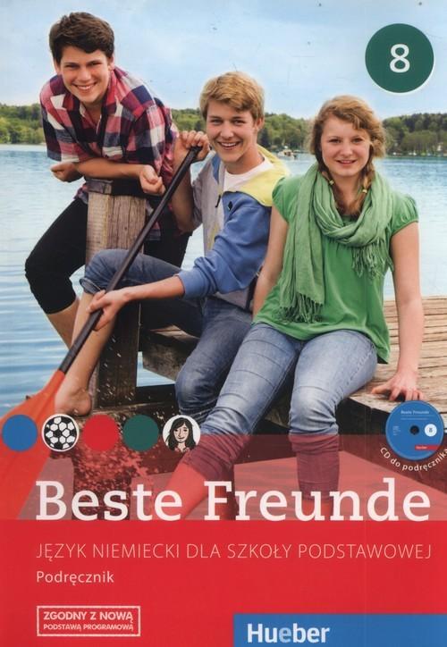 okładka Beste Freunde 8 Podręcznik Szkoła podstawowa, Książka   Manuela Georgiakaki, Elisabeth Graf-Riemann, Christiane Seuthe