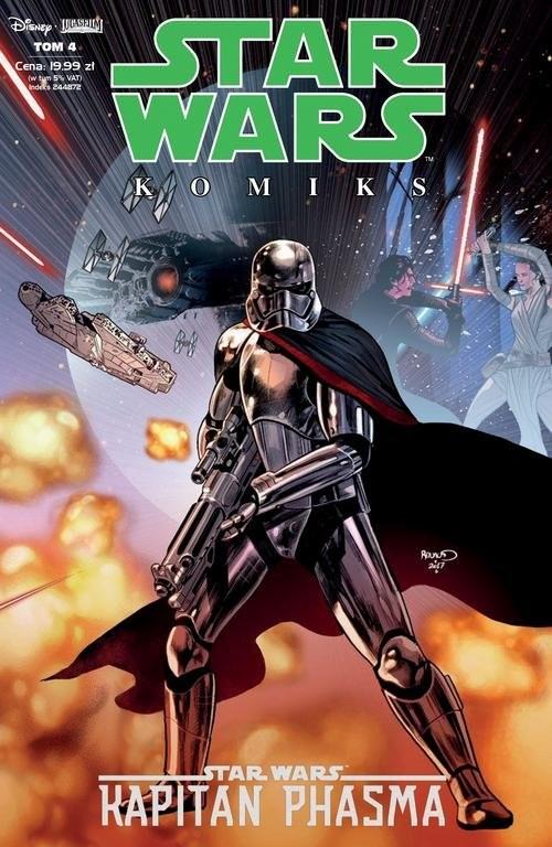 okładka Star Wars Kapitan Phasma 4/19książka      Kelly Thompson, Robert Thompson, Ben Acker, Ben Blacker