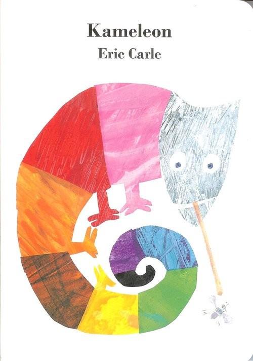 okładka Kameleonksiążka      Carle Eric