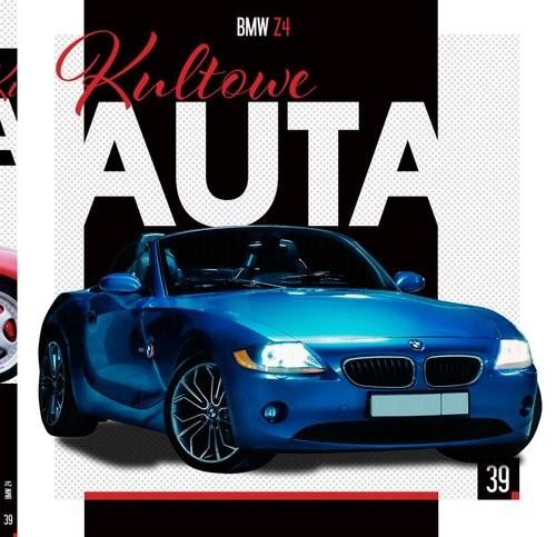 okładka Kultowe Auta Tom 39 BMW Z4książka |  |