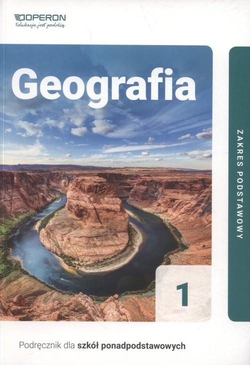 okładka Geografia 1 Podręcznik Zakres podstawowy. Szkoła ponadpodstawowaksiążka      Zaniewicz Zbigniew