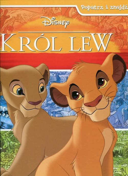 okładka Disney Król Lew Popatrz i znajdźksiążka |  |