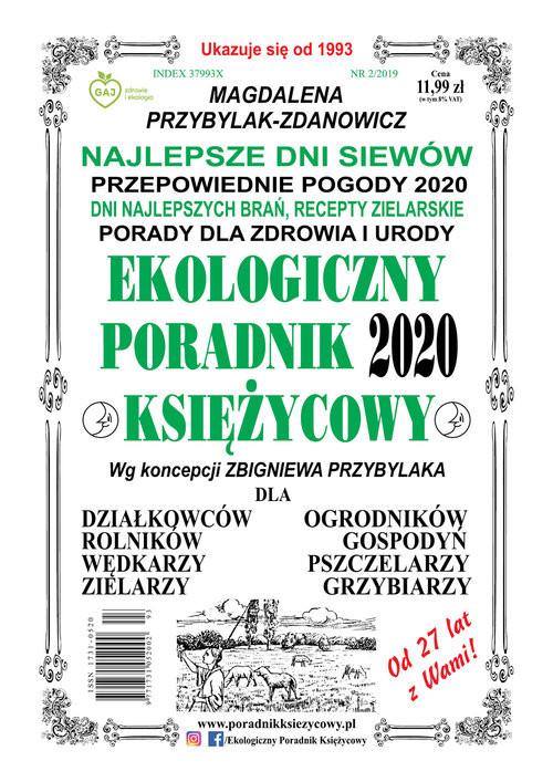 okładka Ekologiczny Poradnik Księżycowy 2020książka |  | Magdalena Przybylak-Zdanowicz