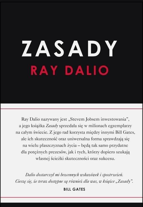 okładka Zasadyksiążka      Dalio Ray