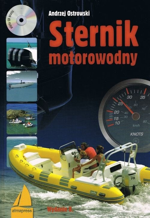 okładka Sternik motorowodny + CD, Książka | Ostrowski Andrzej