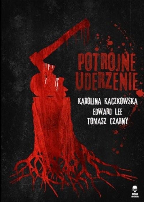 okładka Potrójne uderzenieksiążka      Karolina Kaczkowska, Edward Lee, Tomasz Czarny