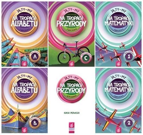 okładka Ja, Ty-My 1 Zestaw podręczników Edukacja wczesnoszkolna, Książka | Białobrzeska Joanna