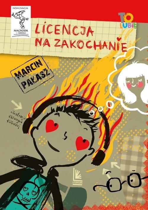 okładka Licencja na zakochanie, Książka | Pałąsz Marcin