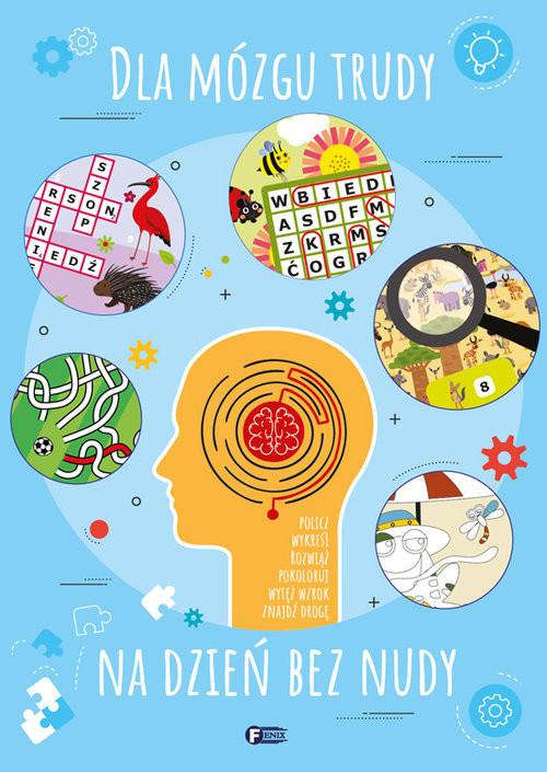 okładka Dla mózgu trudy na dzień bez nudy, Książka  