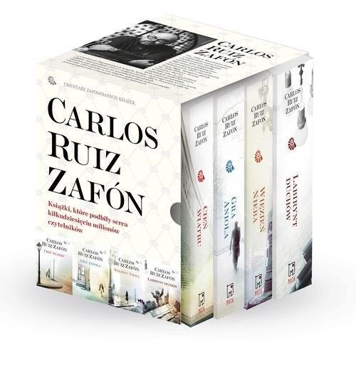 okładka Cień wiatru / Gra anioła / Więzień nieba / Labirynt duchów Pakietksiążka      Carlos Ruiz Zafon