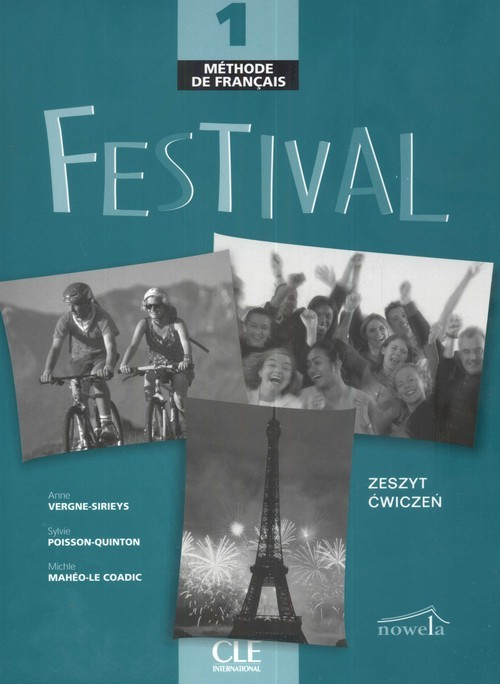 okładka Festival 1 Exercises + CDksiążka      Sylvie Poisson-Quinton, Vergne Anna Sirieys, Mahei Michle Coadic