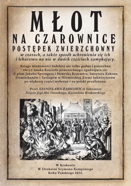 okładka Młot na czarownice, Książka   Spengrer Jacob, Kramer Heinrich