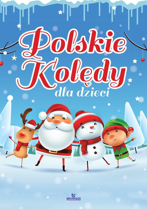 okładka Polskie kolędy dla dzieci, Książka  