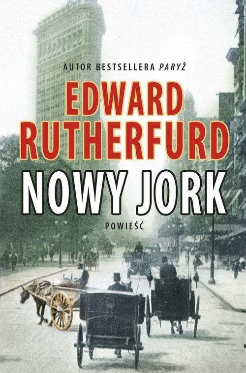 okładka Nowy Jork, Książka | Edward Rutherfurd