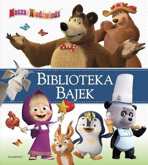 okładka Masza i Niedźwiedź Biblioteka Bajek, Książka | Opracowanie zbiorowe