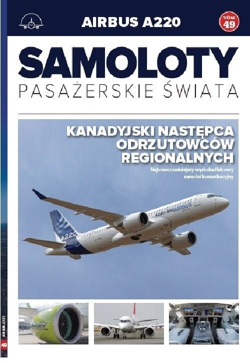 okładka Samoloty pasażerskie świata Tom 49książka     
