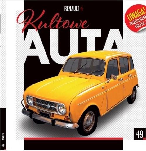 okładka Kultowe Auta 49 Renault 4książka     