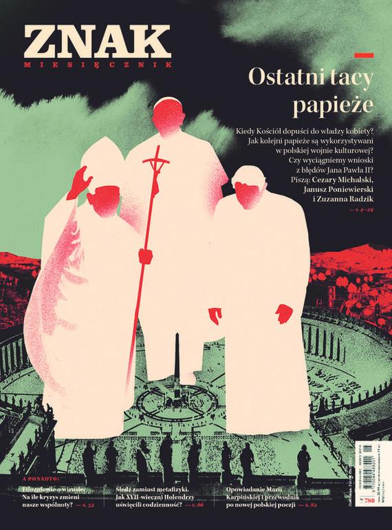 okładka ZNAK 780 05/2020: Ostatni tacy papieżeksiążka     