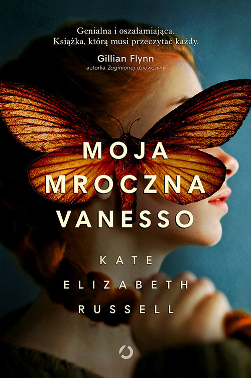okładka Moja mroczna Vanesso, Książka   Elizabeth Russell Kate